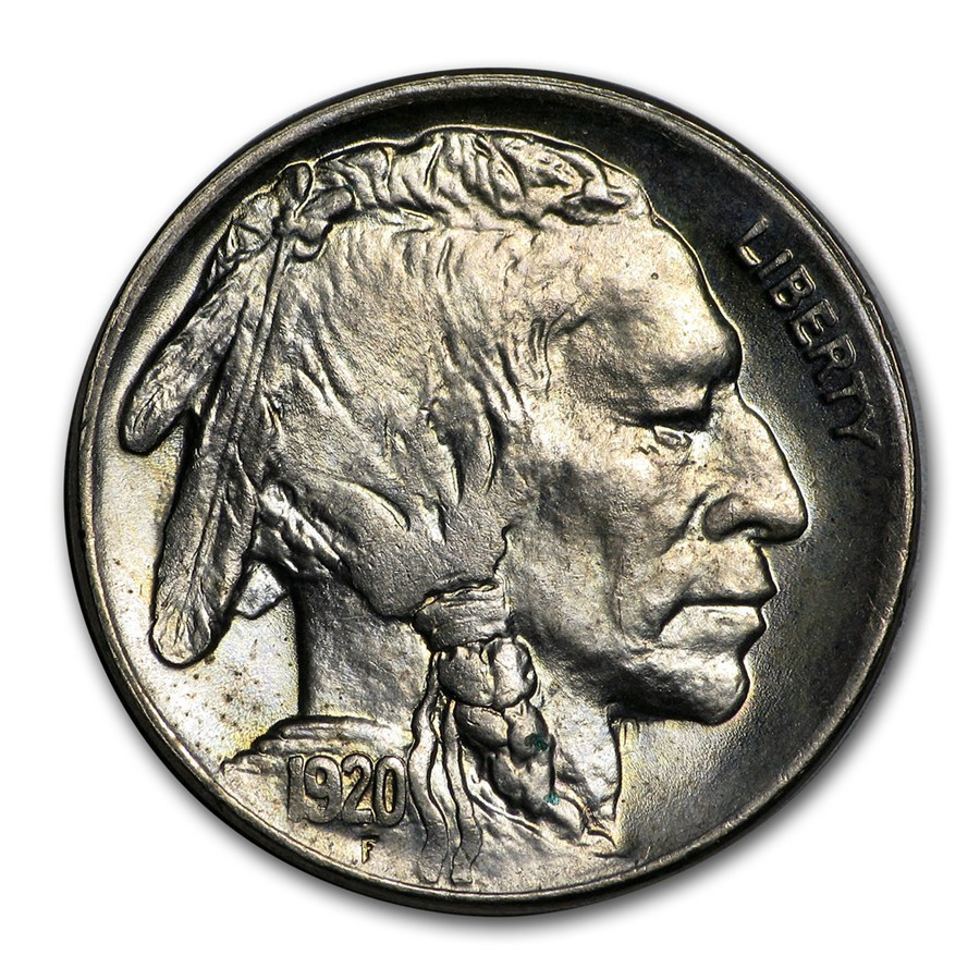 1920 Buffalo Nickel MS 63
