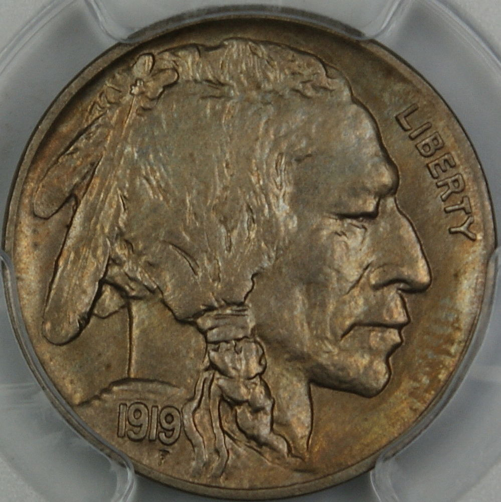 Buffalo Nickel Worth Awesome 1919 D Buffalo Nickel Pcgs Ms 64 Gem Coin Lightly toned Of Lovely 49 Models Buffalo Nickel Worth