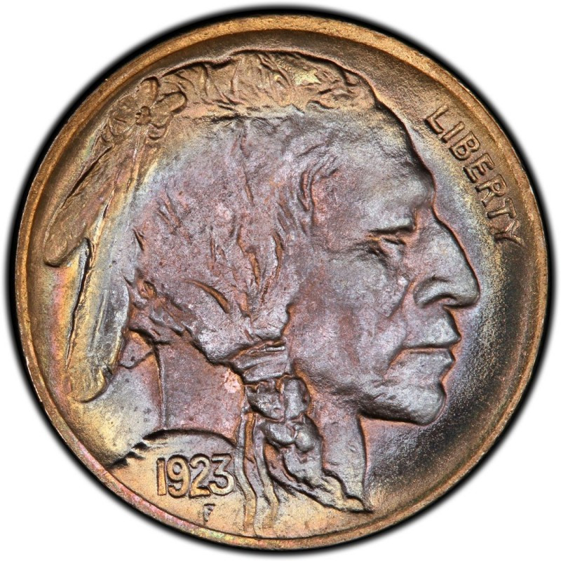 1923 Buffalo Nickel Values and Prices Past Sales