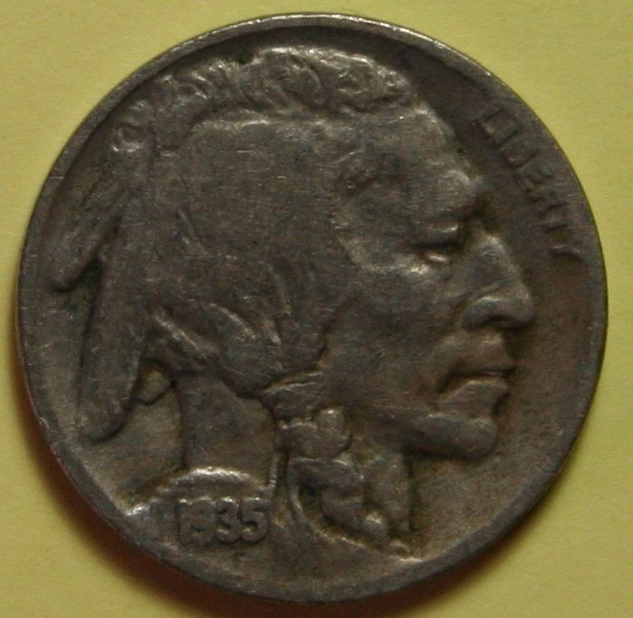 Buffalo Nickel Worth New Us Buffalo Nickels 1935 P 1936 P Very Good Price Each Coin Of Lovely 49 Models Buffalo Nickel Worth