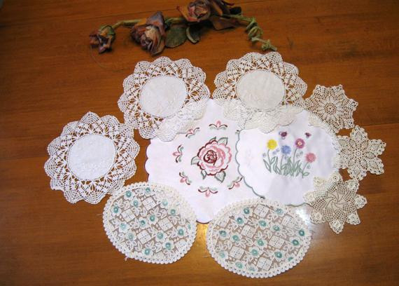 Bulk Doilies Best Of Lot Of 10 Bulk Lot Cutter Fabric Vintage Linens Doilies Of Marvelous 42 Pictures Bulk Doilies