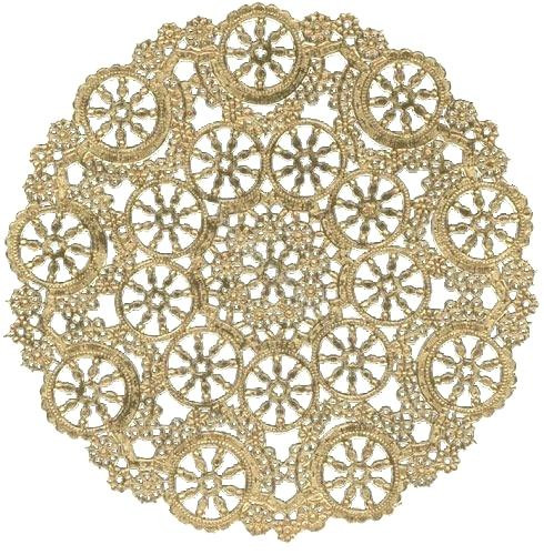 gold paper doilies foil colored lace 12 inch bulk