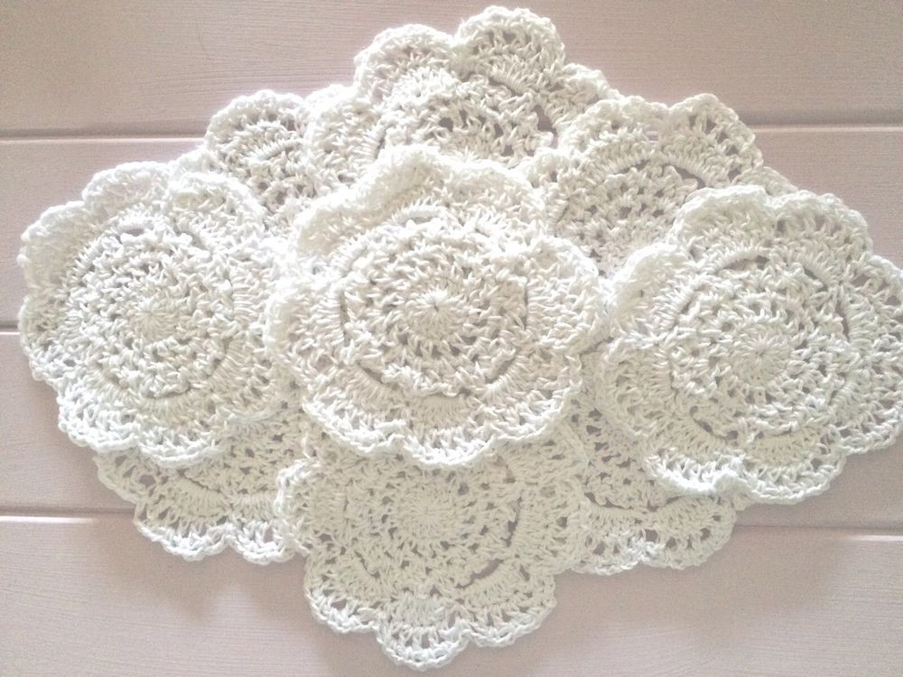 Bulk Doilies Inspirational 10 X Bulk New 10 Cm White Crochet Lace Doilies Of Marvelous 42 Pictures Bulk Doilies