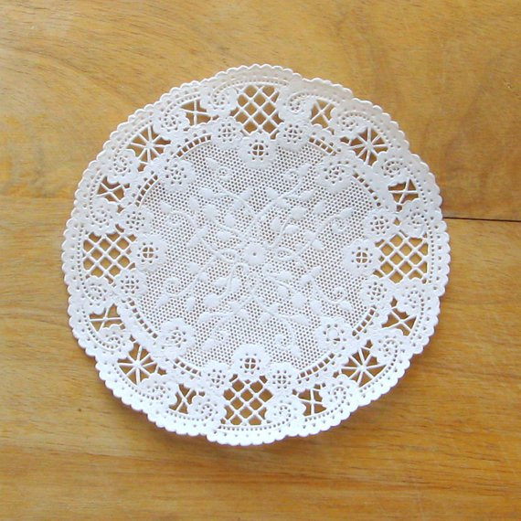 250 5 doilies french lace doilies white lace paper