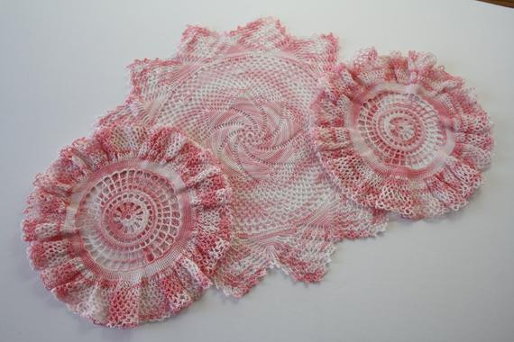 Bulk Doilies Lovely Bulk Lot Crocheted Doilies Vintage Doilies Set Of 3 Crochet Of Marvelous 42 Pictures Bulk Doilies