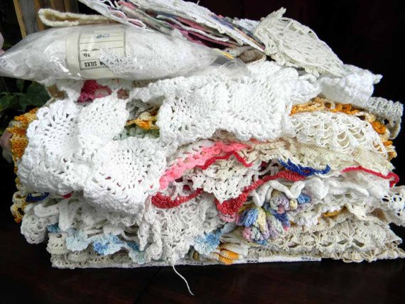 Bulk Doilies Luxury Vintage Crochet Doilies Bulk assorted 3 Lb by Vintagekeepsakes Of Marvelous 42 Pictures Bulk Doilies