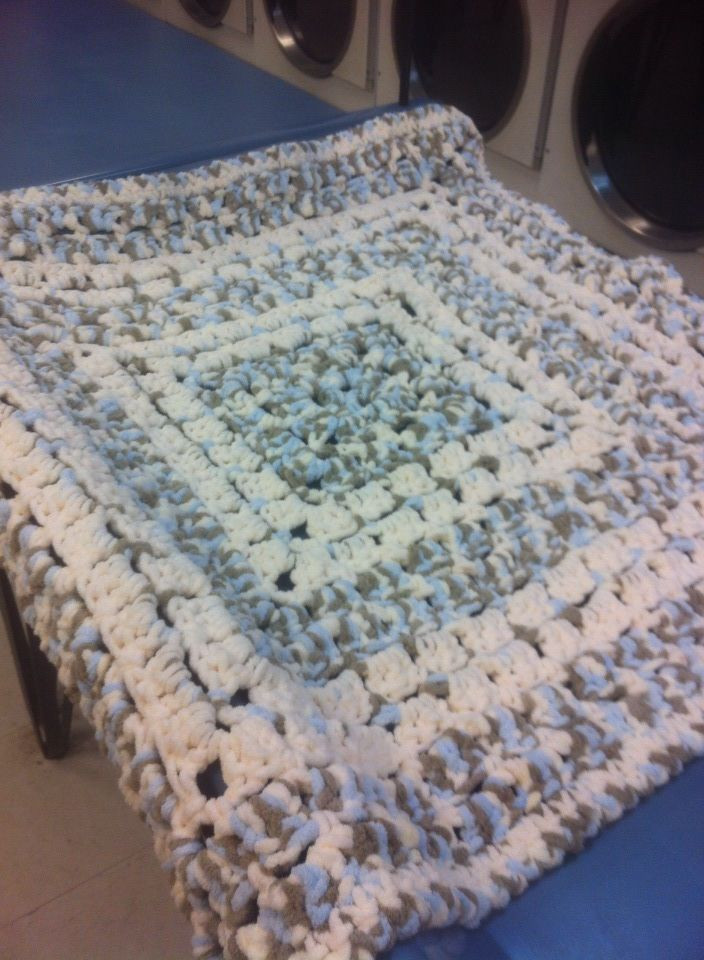 Bulky Crochet Blanket Best Of Pattern is From the Middle Made with Bernat Baby Blanket Of Amazing 50 Ideas Bulky Crochet Blanket