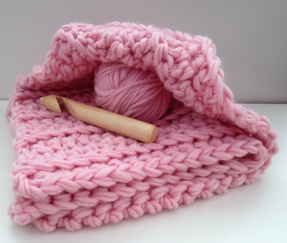 Bulky Crochet Blanket Fresh Blanket Crochet Kit Baby Blanket Diy Learn to Crochet Of Amazing 50 Ideas Bulky Crochet Blanket