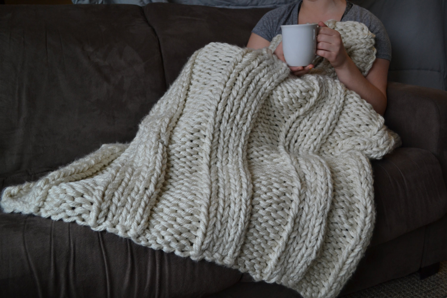 Bulky Knit Blanket Awesome Super Chunky Knit Blanket Extra soft Bulky Yarn Of Top 45 Images Bulky Knit Blanket