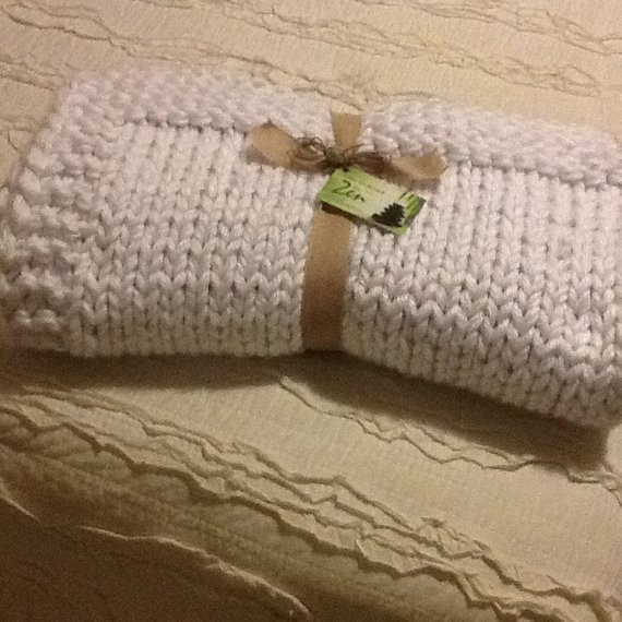 Bulky Knit Blanket Best Of White Bulky Knit Blanket or Throw Hand Knit Of Top 45 Images Bulky Knit Blanket