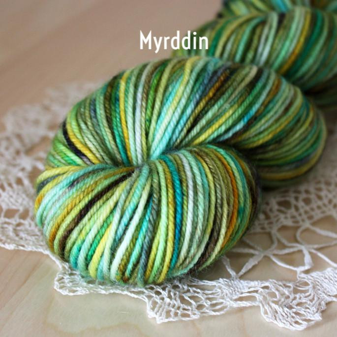 Coussin Super Bulky Weight Merino Wool Hand Dyed Yarn