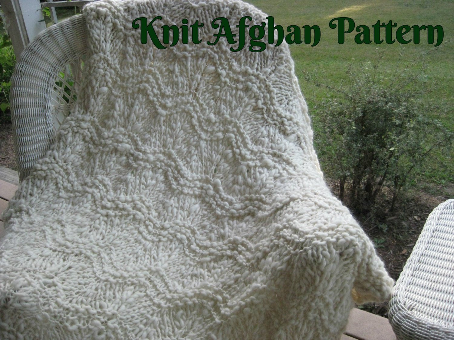 Bulky Yarn Afghan Patterns Lovely Knit Afghan Pattern Bulky Afghan Pattern Handspun Yarn Knit Of Innovative 43 Ideas Bulky Yarn Afghan Patterns