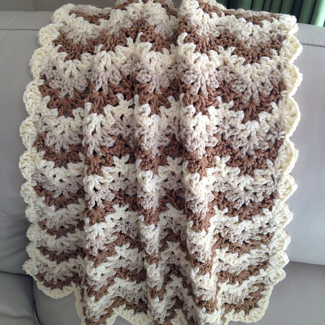 Bulky Yarn Crochet Afghan Patterns Best Of Last Minute Baby Blanket From Annabelsarmoire On Ravelry Of Wonderful 46 Models Bulky Yarn Crochet Afghan Patterns
