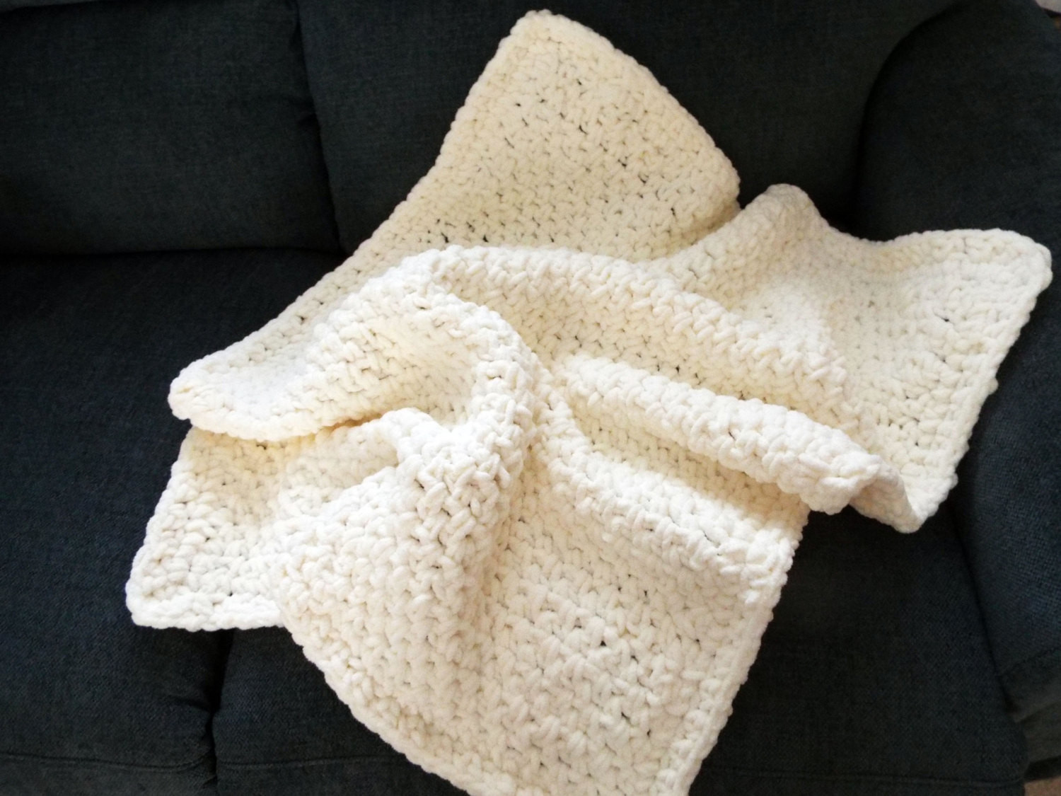 Bulky Yarn Crochet Afghan Patterns Fresh Crochet Baby Afghan Bulky Yarn Handmade by Bobbin for Of Wonderful 46 Models Bulky Yarn Crochet Afghan Patterns
