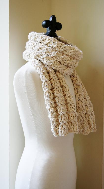 Bulky Yarn Scarf Pattern Crochet Unique Crochet Cable Scarf Patterns 10 Projects You Ll Love Of Fresh 40 Ideas Bulky Yarn Scarf Pattern Crochet
