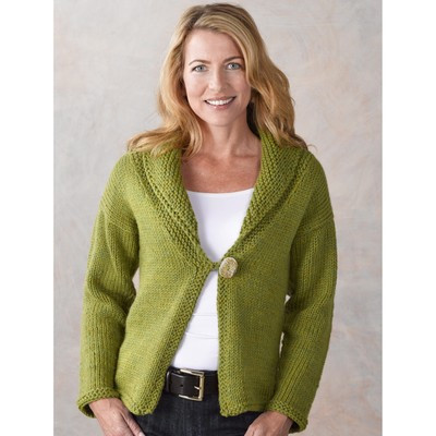 Bulky Yarn Sweater Gray Cardigan Sweater