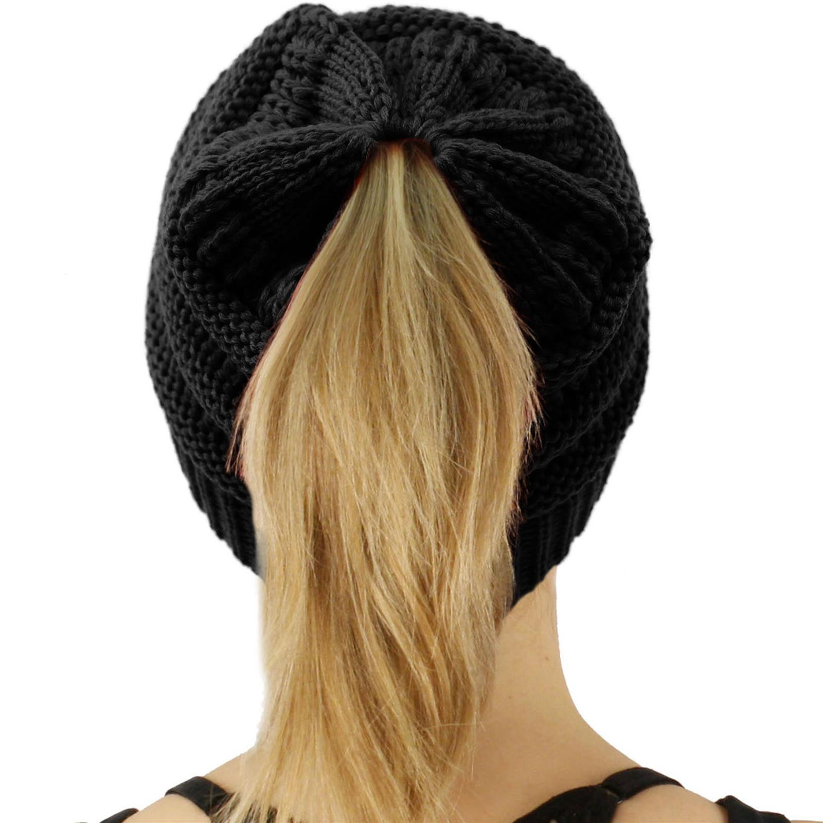 Bun Beanie Hat Lovely Cc Beanietail Messy High Bun Ponytail Stretchy Knit Beanie Of Contemporary 41 Pics Bun Beanie Hat