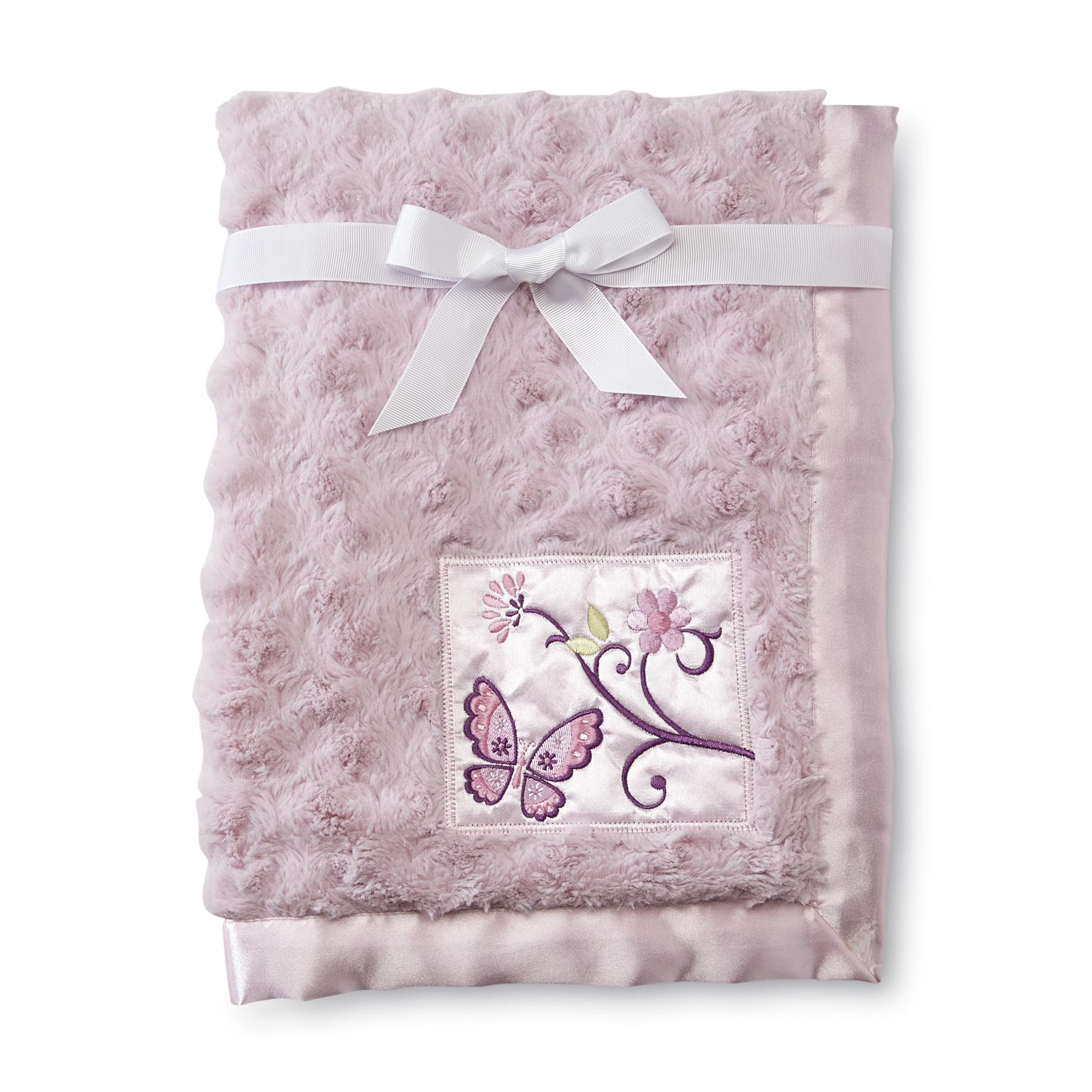 Butterfly Baby Blanket Awesome Nojo Infant Girl S Plush & Satin Blanket butterfly Blossoms Of Amazing 43 Ideas butterfly Baby Blanket