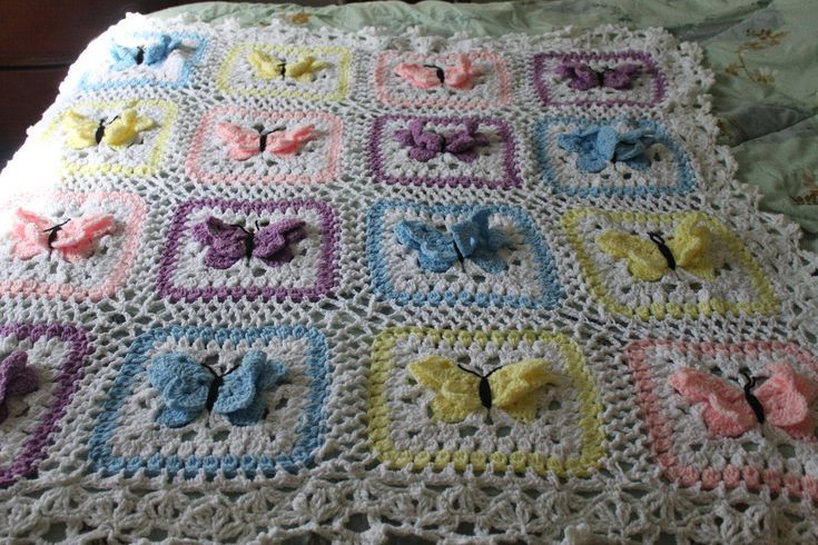 Crochet Beautiful Butterfly Designs With These Free