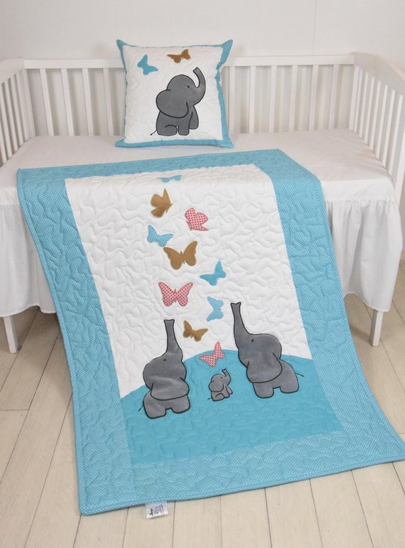 Butterfly Baby Blanket Luxury butterfly Baby Blanket Turquoise Blue Gold Salmon Pink Crib Of Amazing 43 Ideas butterfly Baby Blanket