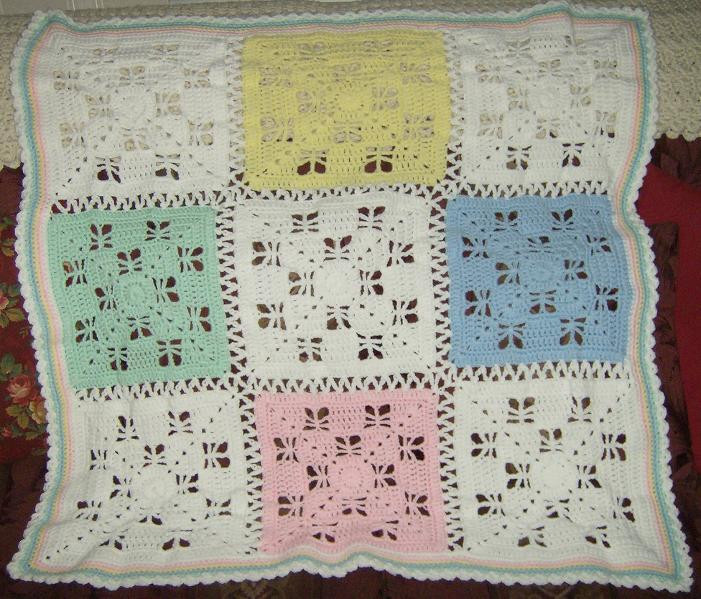 butterfly kisses baby afghan crochet pattern free