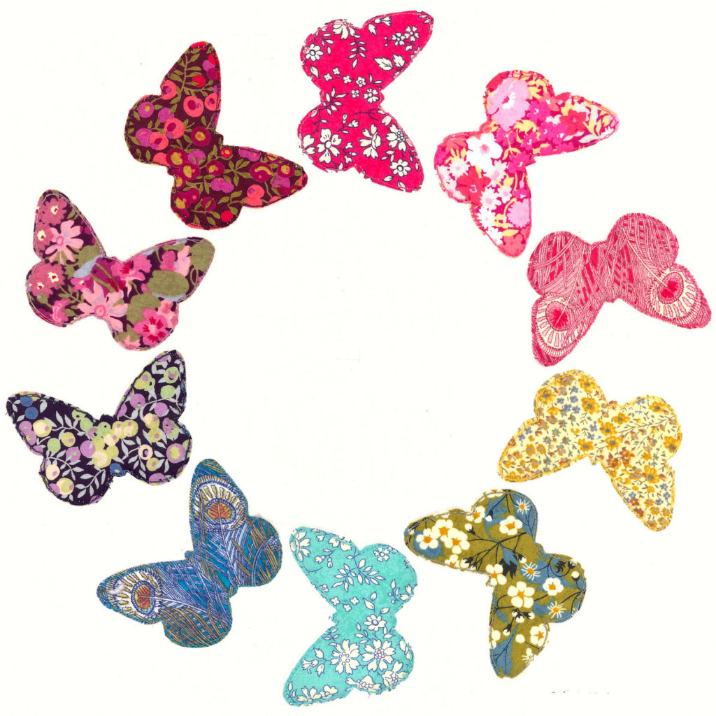 Butterfly Pattern Elegant Pattern butterfly Ring Raw Edge Applique Quilt Block or Of Brilliant 42 Photos butterfly Pattern