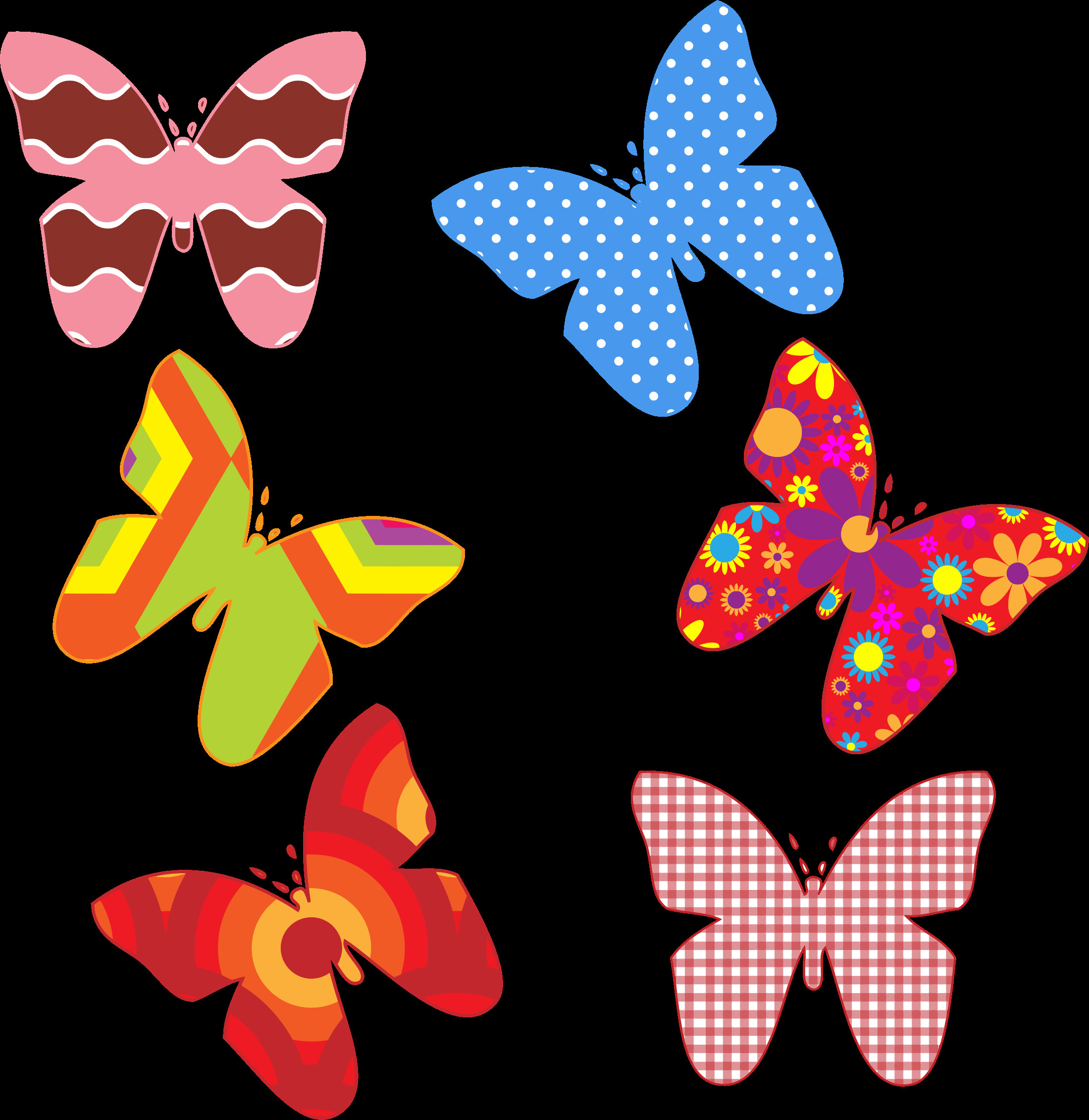 Butterfly Pattern Lovely Clipart Colorful butterfly Patterns Of Brilliant 42 Photos butterfly Pattern