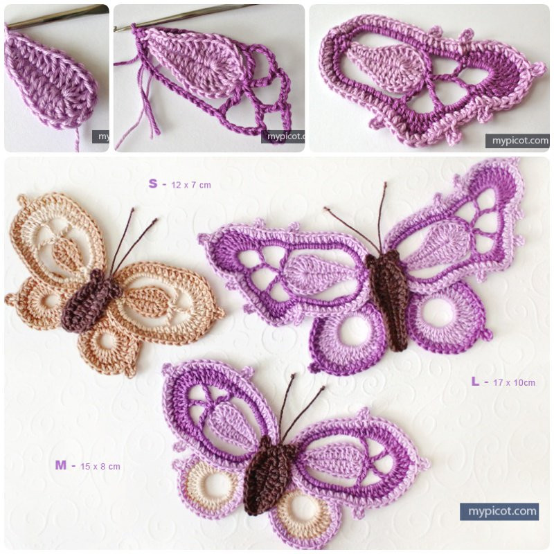Butterfly Pattern New Crochet butterfly Bookmark with Free Pattern Of Brilliant 42 Photos butterfly Pattern