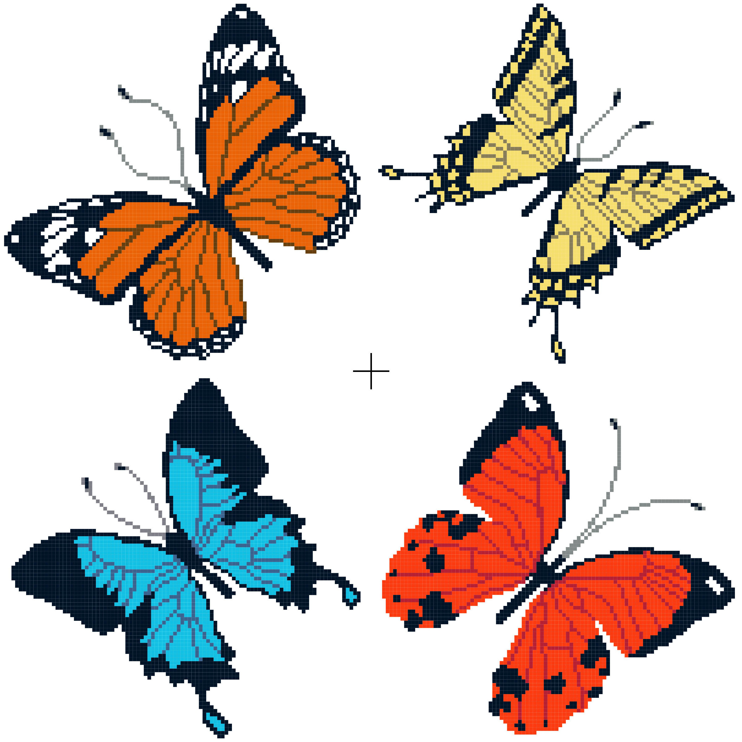 Butterfly Pattern Unique Free Cross Stitch Patterns Of Brilliant 42 Photos butterfly Pattern