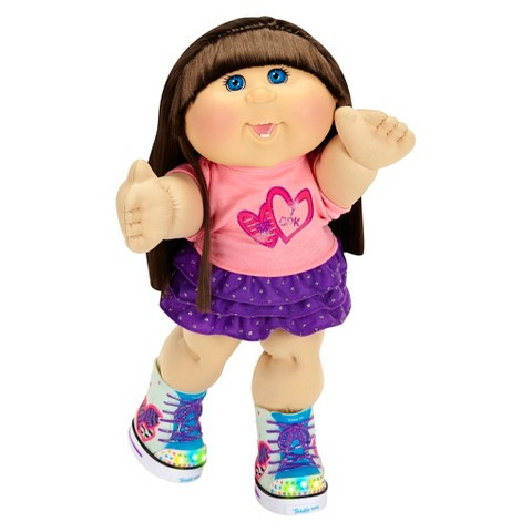 "Cabbage Patch Doll Awesome Cabbage Patch Kids Twinkle toes 14"" Kid Brunett Tar Of Superb 40 Models Cabbage Patch Doll"