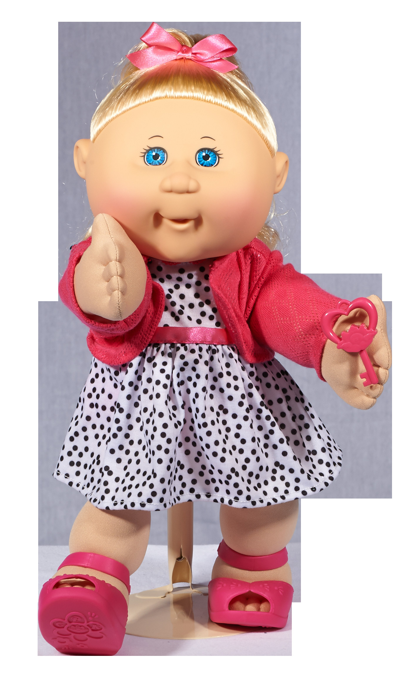 "Cabbage Patch Doll Elegant Cabbage Patch Kids 14"" Baby Doll Blonde Hair & Blue Eyes Of Superb 40 Models Cabbage Patch Doll"
