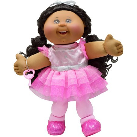 "Cabbage Patch Doll Fresh Cabbage Patch Kids 14"" Girl Glitz Dark Hair Brown Eyes Of Superb 40 Models Cabbage Patch Doll"