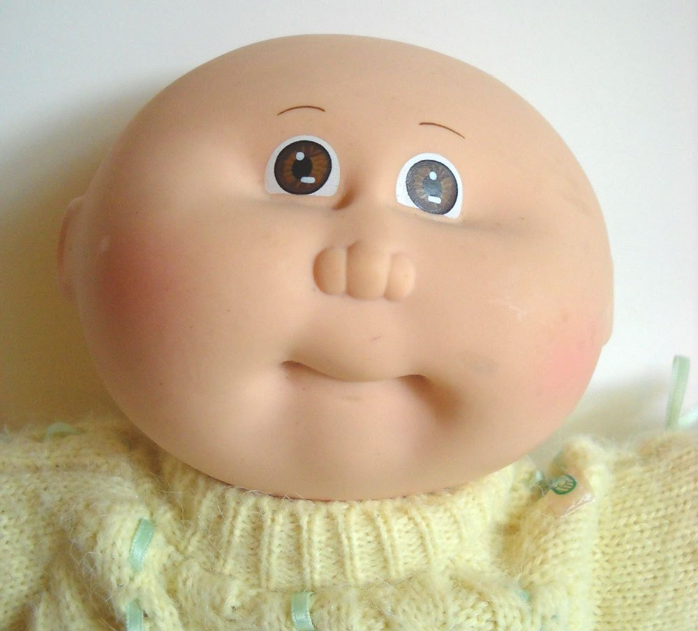 Cabbage Patch Doll Unique Cabbage Patch Doll 1980s Vintage Bald Preemie Of Superb 40 Models Cabbage Patch Doll