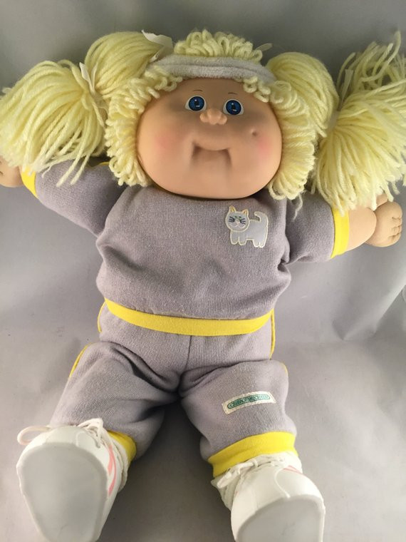 Cabbage Patch Doll Value Awesome Vintage Cabbage Patch Doll 1980s Xavier Roberts Signed Blonde Of Contemporary 40 Pictures Cabbage Patch Doll Value