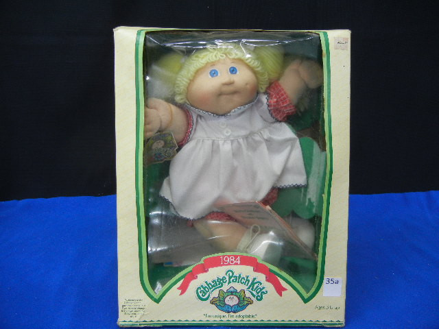 Value A 1984 Cabbage Patch Doll softwarefriend