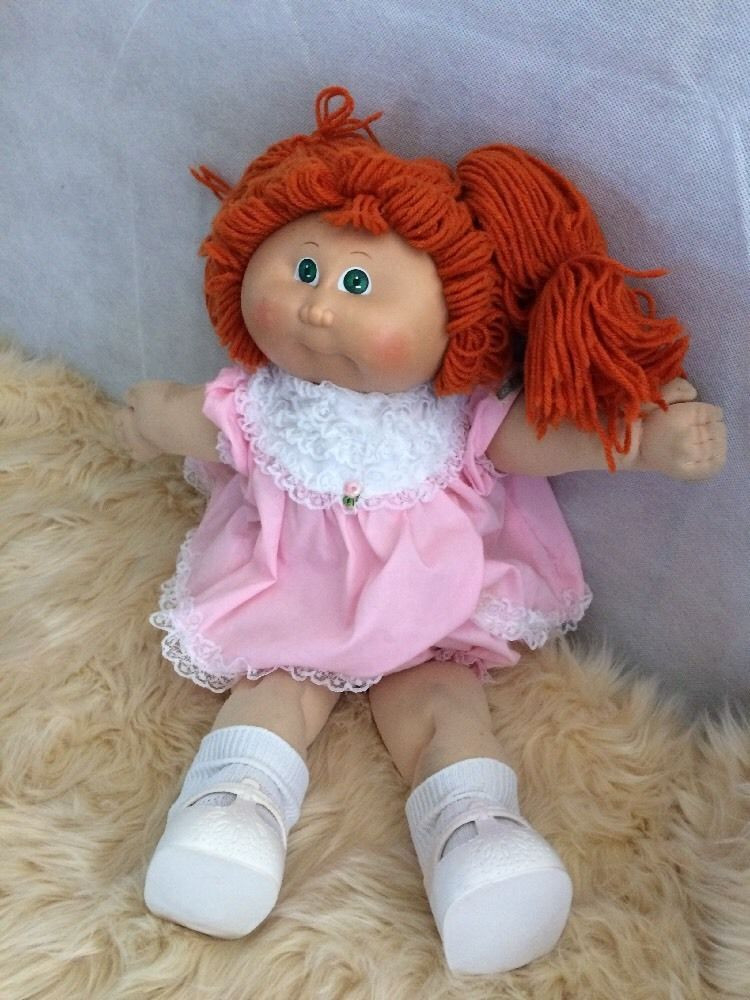 Cabbage Patch Doll Value Inspirational Girl Cabbage Patch Doll Red Hair Green Eyes Ebay Of Contemporary 40 Pictures Cabbage Patch Doll Value