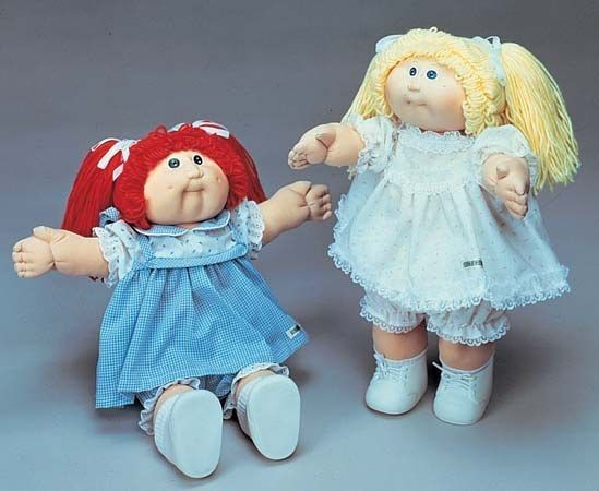 black cabbage patch doll