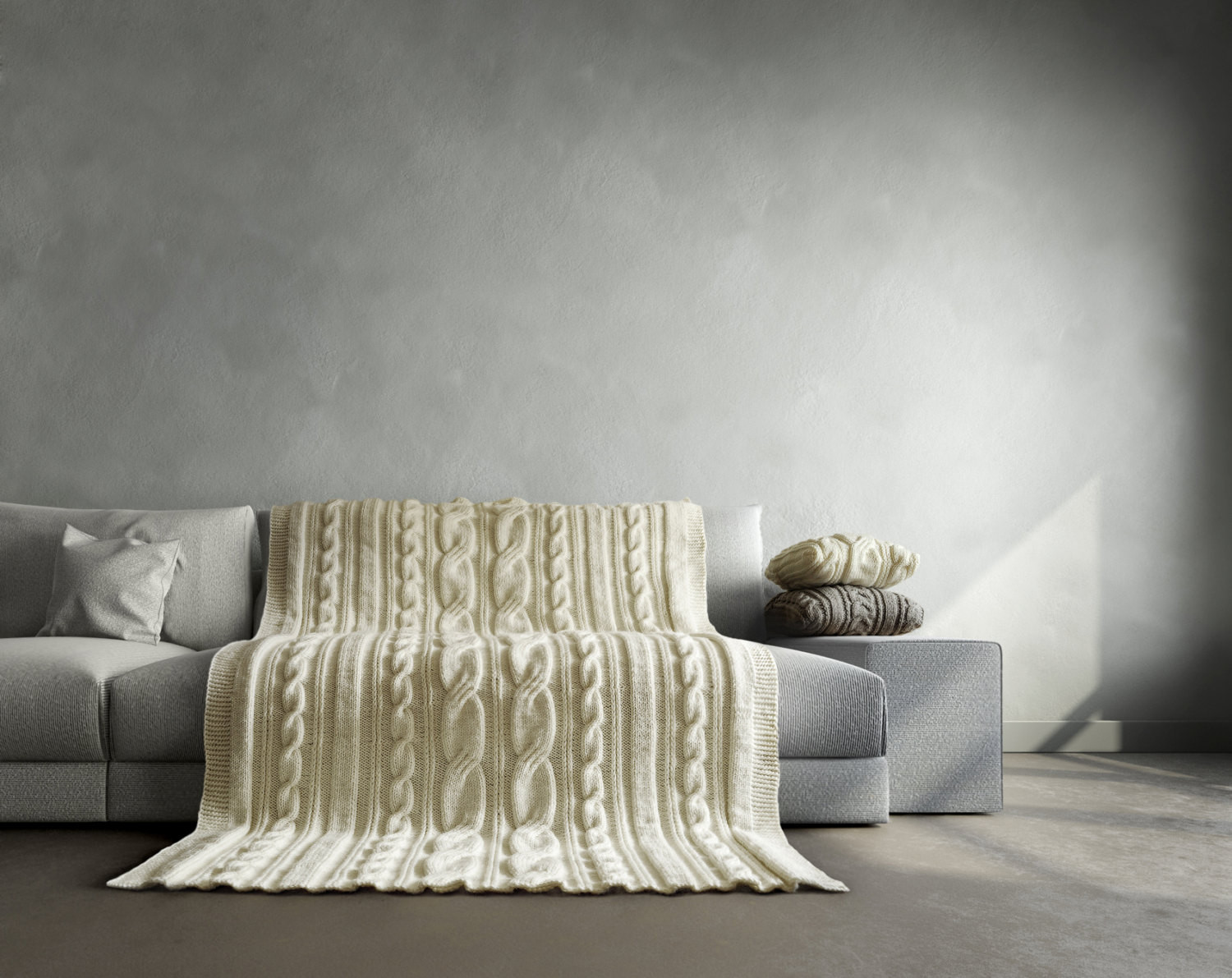 Cable Knit Blanket Elegant Cable Knit Blanket It Fits Perfect for Bed and Couch Will Be Of Incredible 49 Pictures Cable Knit Blanket