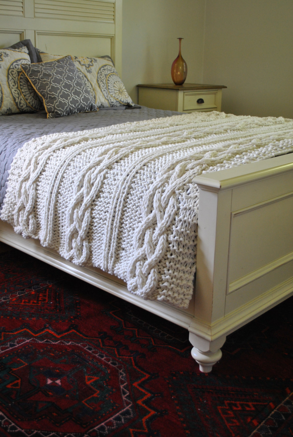 Cable Knit Blanket Elegant Chunky Cable Knit Blanket In Cream Irish Made by Of Incredible 49 Pictures Cable Knit Blanket