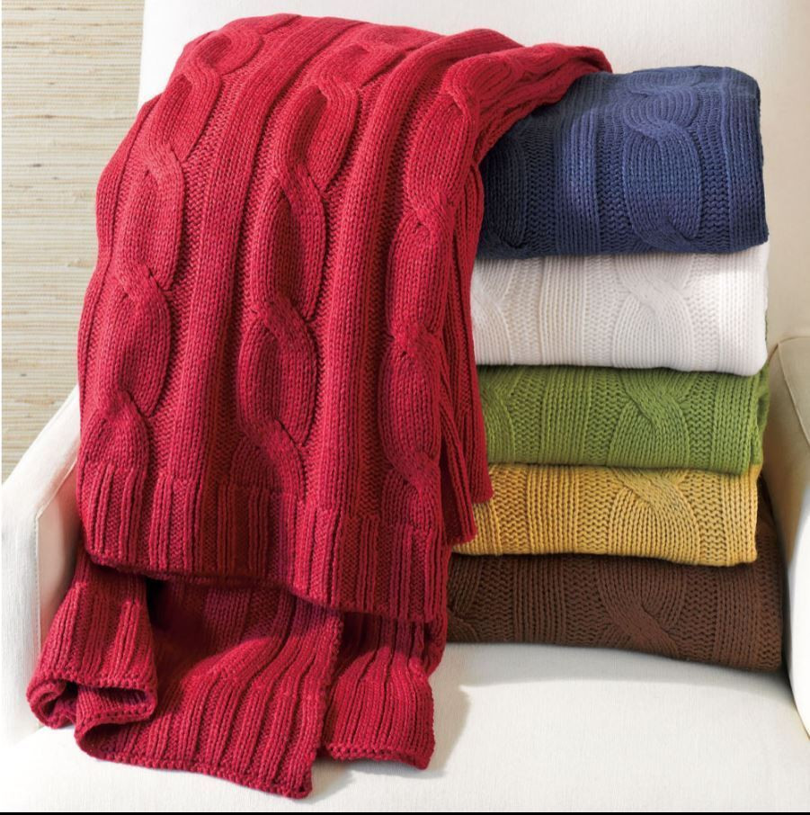 Cable Knit Throw Awesome Brick Red Cable Knit Throw Woven Lap Blanket Of Charming 49 Models Cable Knit Throw
