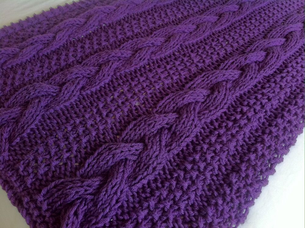 Cable Knit Throw Elegant Knitting Pattern Braided Cable Chunky Blanket Throw Of Charming 49 Models Cable Knit Throw