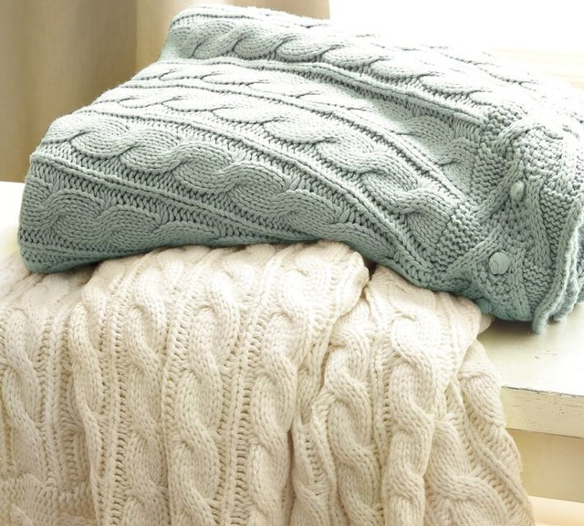 Cable Knit Throw Lovely Cable Knit Blankets – Add Warmth and Style Home Design Of Charming 49 Models Cable Knit Throw