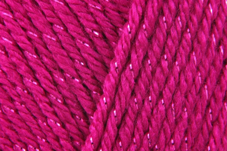 Caron Simply Soft Party Fuchsia Sparkle 0002 85g