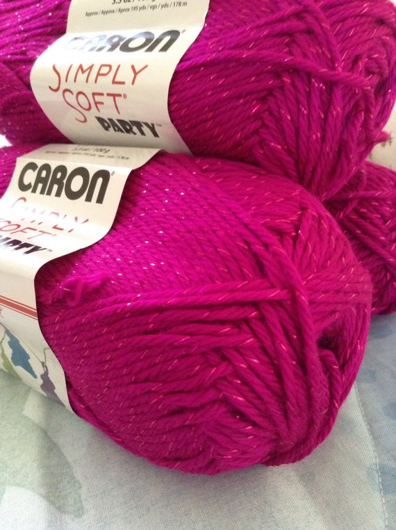 Caron Simply soft Party Lovely Caron Simply soft Yarn Party Yarn Fuchsia Sparkle soft Of Amazing 41 Photos Caron Simply soft Party