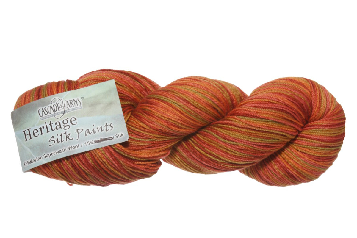 Cascade Heritage Silk Beautiful Cascade Heritage Silk Paints Yarn 9801 Fall Foliage Of Perfect 48 Pictures Cascade Heritage Silk