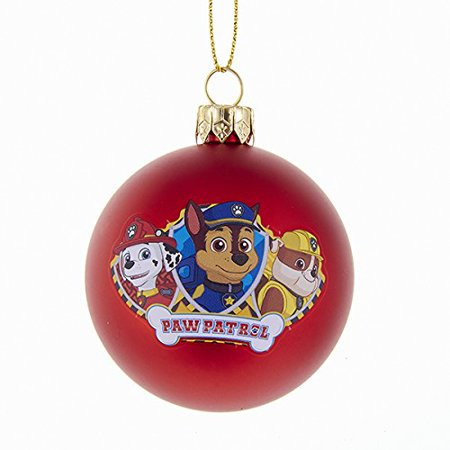 Character Christmas ornaments Awesome 60 Mm Paw Patrol Characters Shatterproof Ball Christmas Of Great 37 Photos Character Christmas ornaments