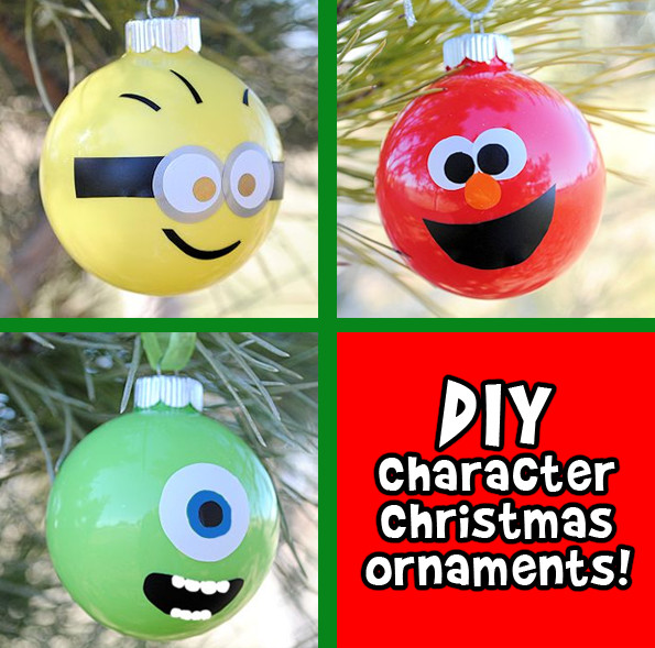Character Christmas ornaments Best Of Diy Character Christmas ornaments Of Great 37 Photos Character Christmas ornaments