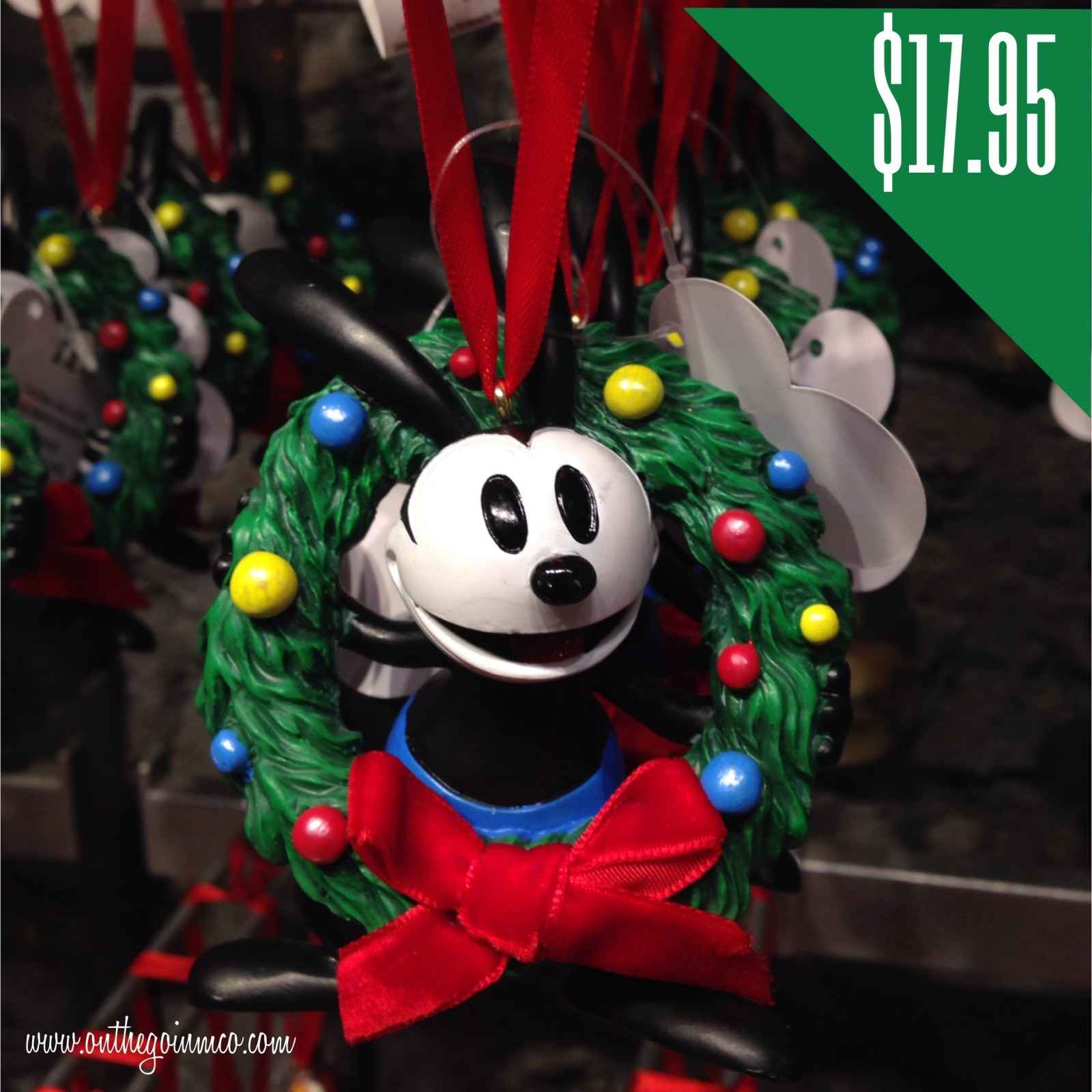 Disney Character Christmas Ornaments the Go in MCO