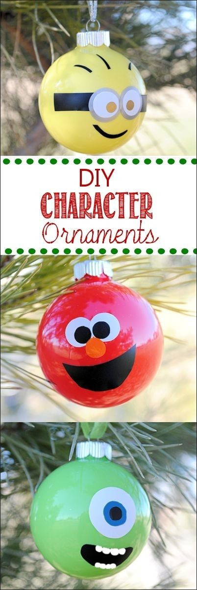 Character Christmas ornaments Luxury 70 Diy Christmas ornaments Ideas Of Great 37 Photos Character Christmas ornaments