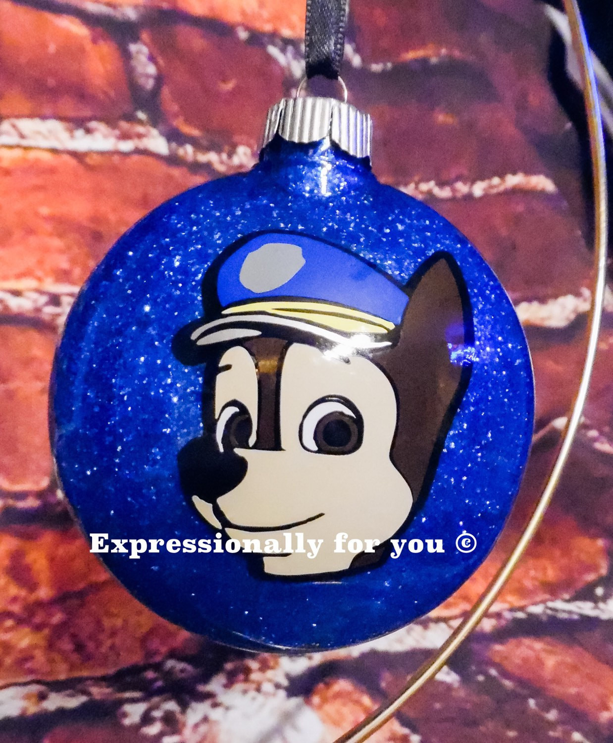Character Christmas ornaments Luxury Paw Patrol Character Glitter Personalized Christmas ornament Of Great 37 Photos Character Christmas ornaments